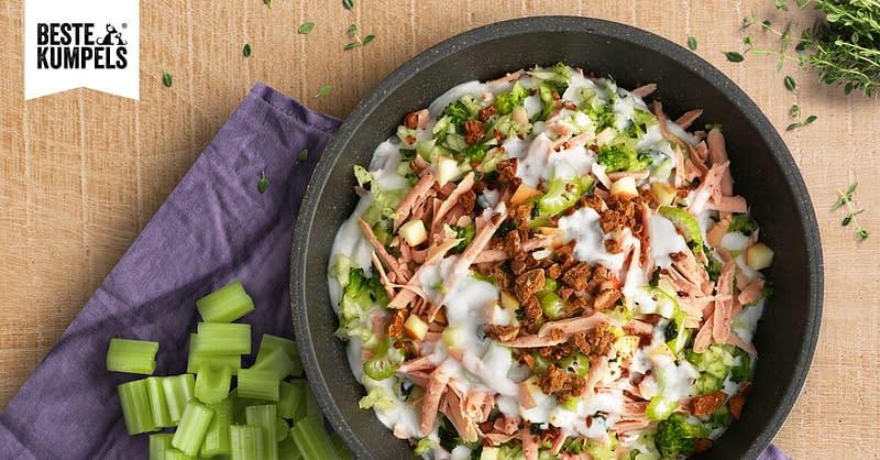Kaninchen-Wurstsalat